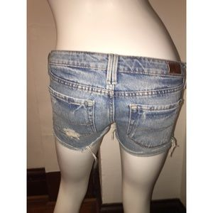 Bullhead Distressed Denim Shorts